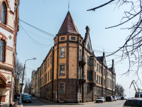 , st Vyborgskaya, house 1. Apartment house