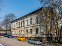 , st Vyborgskaya, house 13. Apartment house