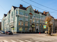 , Leningradskiy avenue, house 2А. Apartment house