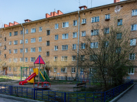 , Leningradskiy avenue, house 4. Apartment house