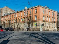 , Leningradskiy avenue, house 7. Apartment house