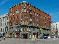, Leningradskiy avenue, 房屋 10. 公寓楼