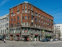 , Leningradskiy avenue, house 10. Apartment house
