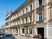 , Krepostnaya st, house 2. Apartment house