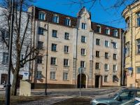 , Krepostnaya st, 房屋 21. 公寓楼