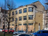, Krepostnaya st, house 24. vacant building