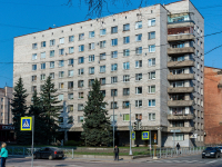 , Krepostnaya st, house 43. Apartment house