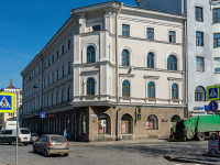 , Lenin avenue, house 22. Apartment house