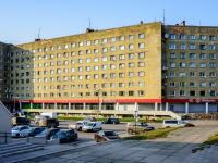 , Lenin avenue, house 38. Apartment house