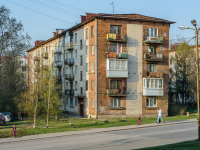 , st Mira, house 19. Apartment house