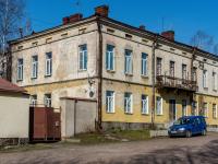 Выборг, улица Петровская, дом 4. многоквартирный дом
