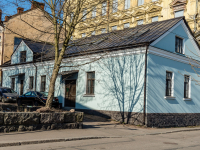 , Porogonnaya st, house 6. Apartment house