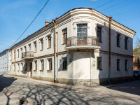 , Porogonnaya st, house 12. Apartment house