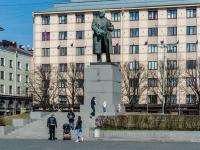 Выборг, улица Северная. памятник Ленину В.И.