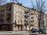 , Suvorov avenue, house 7. Apartment house