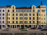 , Suvorov avenue, house 25. Apartment house
