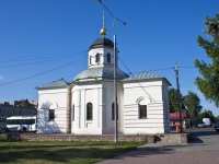 Bronnitsy, chapel Николая ЧудотворцаLenin square, chapel Николая Чудотворца