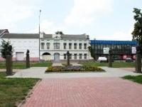 Bronnitsy, memorial Знаменитым жителям БронницLenin square, memorial Знаменитым жителям Бронниц