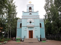 neighbour house: st. Pionerskaya, house 26. temple Троицы Живоначальной
