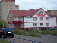 neighbour house: st. Yubileynaya, house 6 с.1. shopping center Теремок