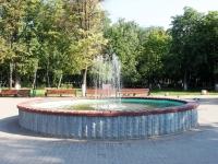 "neighbour house: st. Shkolnaya. fountain ""На улице Школьной"""