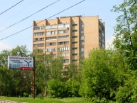 neighbour house: avenue. Zhukovsky, house 13. Apartment house