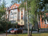 Zhukovsky, Serov st, house 8. Apartment house