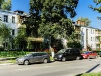 Korolev, st Karl Libknekht, house 4. Apartment house