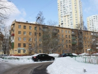 neighbour house: st. Ashkhabadskaya, house 19Б. Apartment house