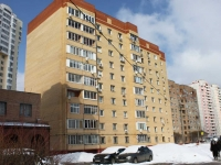 neighbour house: st. Ashkhabadskaya, house 23. Apartment house
