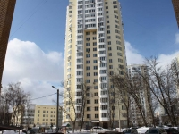 neighbour house: st. Ashkhabadskaya, house 27. Apartment house