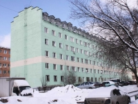 Reutov, Gagarin st, house 25. Apartment house