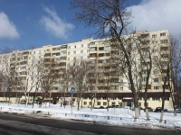 Reutov, Pobedy st, house 2. Apartment house