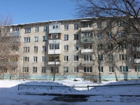 Reutov, Pobedy st, house 12. Apartment house