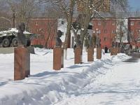 neighbour house: st. Pobedy. monument Героям Советского Союза