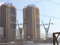 neighbour house: st. Lesnaya, house вл1. building under construction