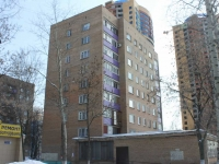Reutov, Stroiteley st, house 11. Apartment house