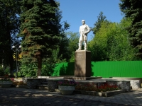 Elektrostal, monument Н.А. ВторовуKoreshkov st, monument Н.А. Второву