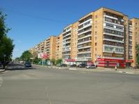 Elektrostal, Pobedy st, house 17 к.1. Apartment house