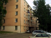 Dzerzhinsky, Lenin st, house 16. Apartment house