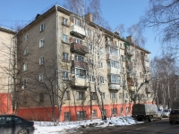 Dzerzhinsky, Sportivnaya st, house 2. Apartment house