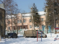 neighbour house: st. Sportivnaya, house 10А. nursery school №1, Синяя птица