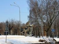 Dzerzhinsky, st Dzerzhinskaya. stele