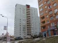 Dzerzhinsky, Dmitry Donskoy square, house 4. Apartment house