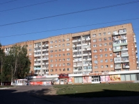 Kolomna, Dzerzhinsky st, house 4. Apartment house with a store on the ground-floor