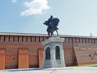Коломна, улица Октябрьской Революции. памятник Дмитрию Донскому