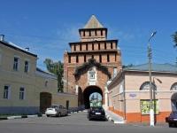 Коломна, улица Лазарева. кремль Пятницкие ворота