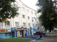 Kolomna, Umanskaya st, house 17. Apartment house with a store on the ground-floor