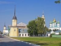 Коломна, улица Лазарева, дом 11А. монастырь Ново-Голутвин
