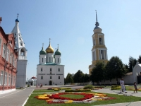 Коломна, улица Лазарева. площадь Соборная